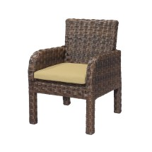 Emerald Home Furnishings Patio Dining Chair With Cushion