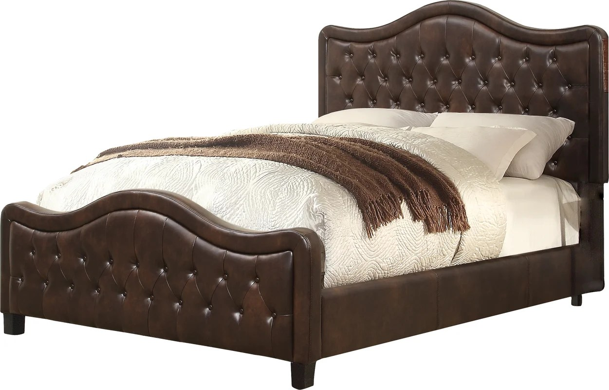 Darby Home Co Turin Upholstered Panel Bed & Reviews