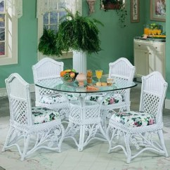 White Wicker Chairs And Table Bruno Chair Lift Accessories Rattan Kitchen Dining Tables You Ll Love Wayfair Quickview