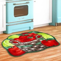Apple Kitchen Rugs Best Flooring For Kitchens Green Rug Wayfair Basket Red Area