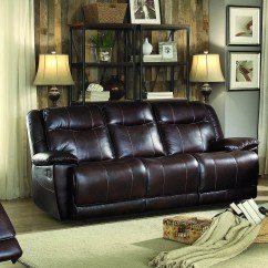 Voyager Lay Flat Triple Reclining Sofa Under Laptop Stand Bubba Mor