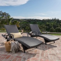 Peyton Adjustable Wicker Chaise Lounge & Reviews | AllModern