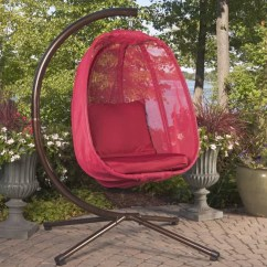 Hanging Chair Clear High Swing Combo Flowerhouse Egg With Stand & Reviews | Wayfair