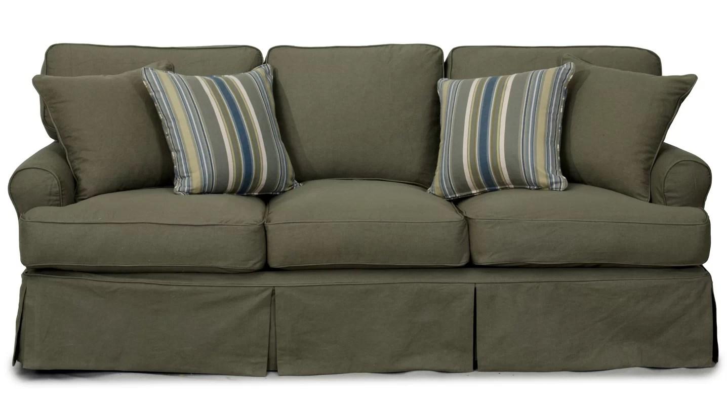 loose cotton chair covers swing johannesburg slipcover t cushion sofa uglysofa tailored