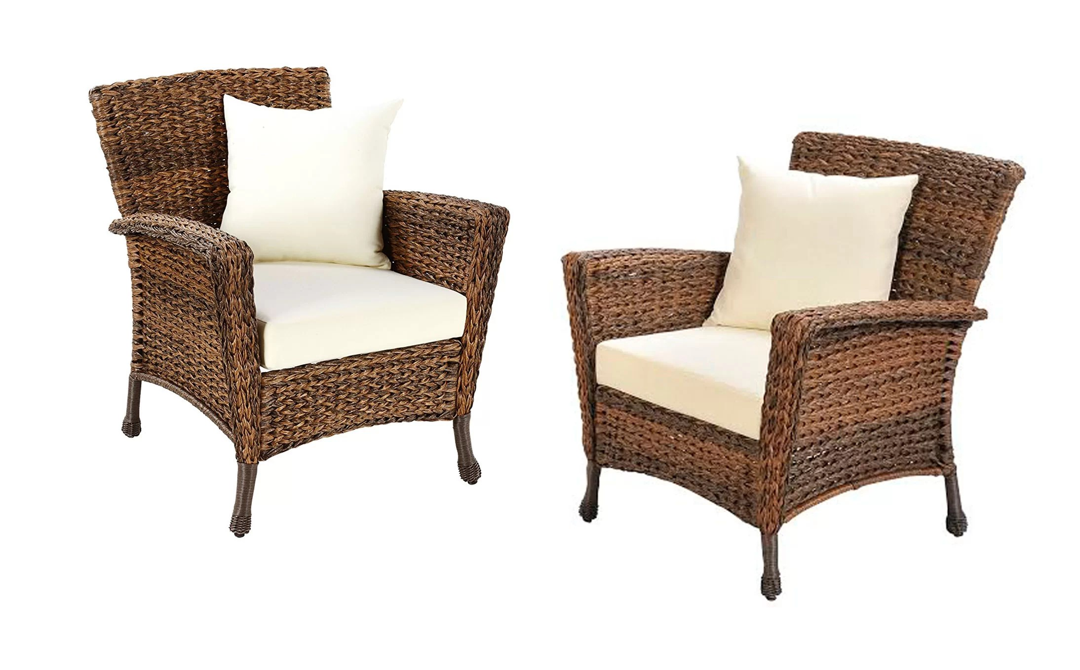 rumsey garden patio furniture 2 piece with cushions