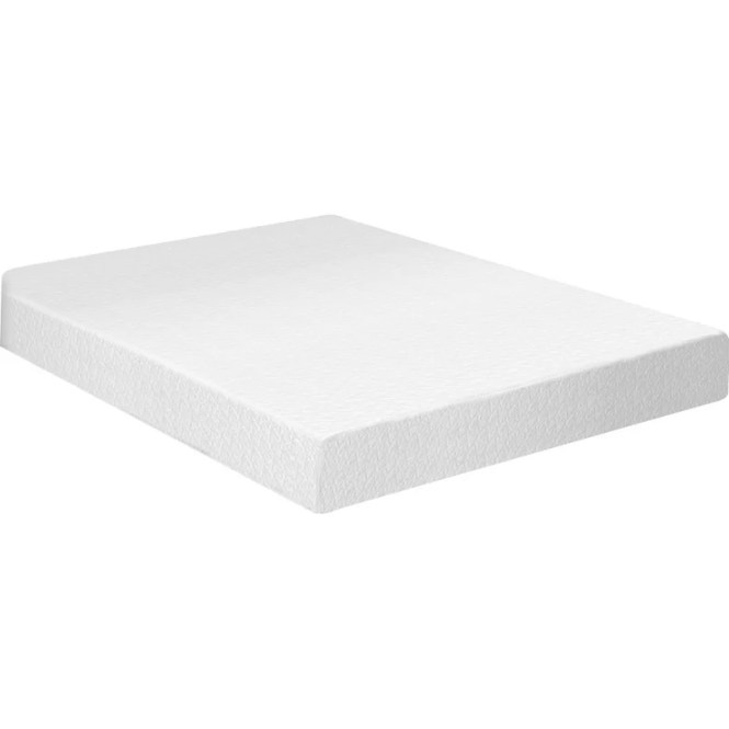 8 Memory Foam Mattress And Box Spring