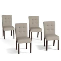 Set Of 4 Chairs Chair Sleeper Ikea Dining With Wayfair Save