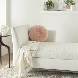 imani round cotton pillow cover insert