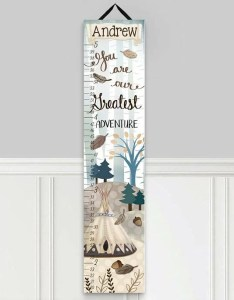 Adventure personalized growth chart also toad and lily wayfair rh