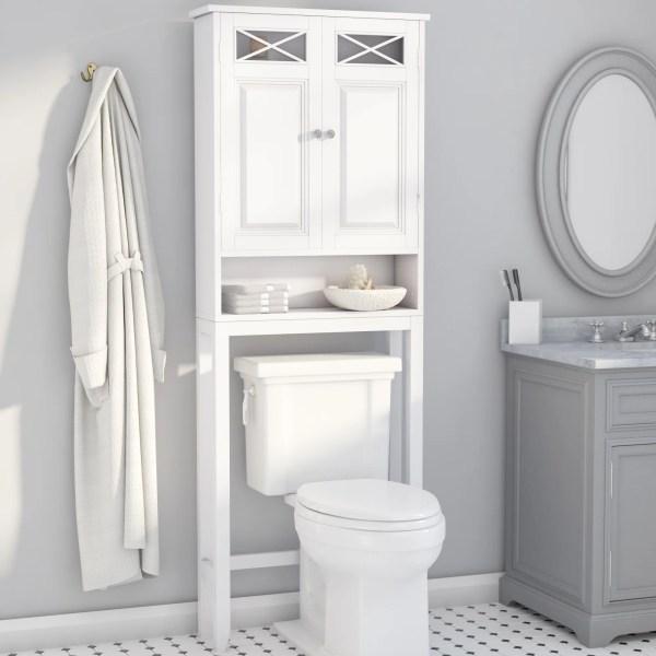 "Darby Home Coddington 25"" X 68"" Over Toilet"