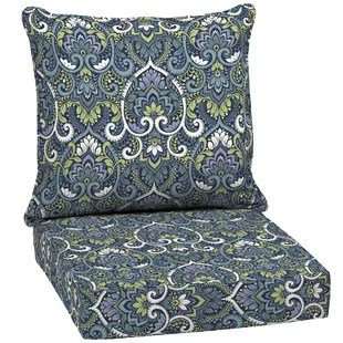 outdoor seat back cushion