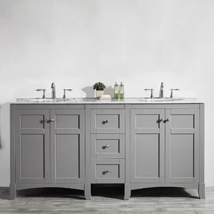 72 inch bathroom vanity no top | wayfair