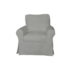club chair covers office brown outdoor swivel cover wayfair quickview