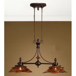 kitchen drum light overstock cabinets oil rubbed bronze wayfair soukaina island pendant in