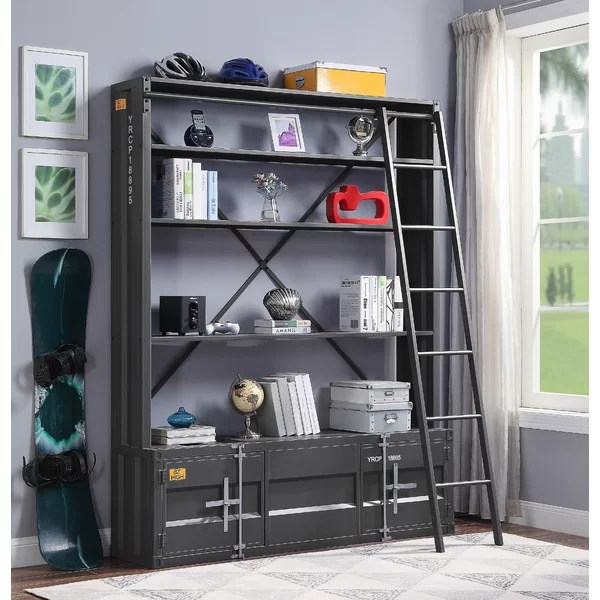 Thomason Standard Bookcase By 17 Stories