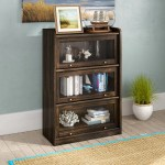 Beachcrest Home Mouzon Barrister Bookcase Reviews Wayfair