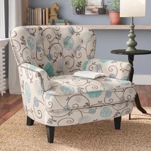 grey club chair accent rocking chairs sage green arm wayfair hamburg armchair