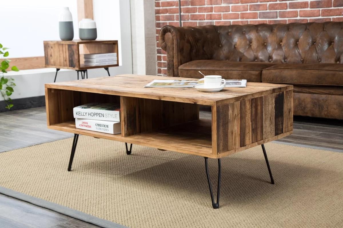 Union Rustic Colvin Coffee Table Amp Reviews Wayfair