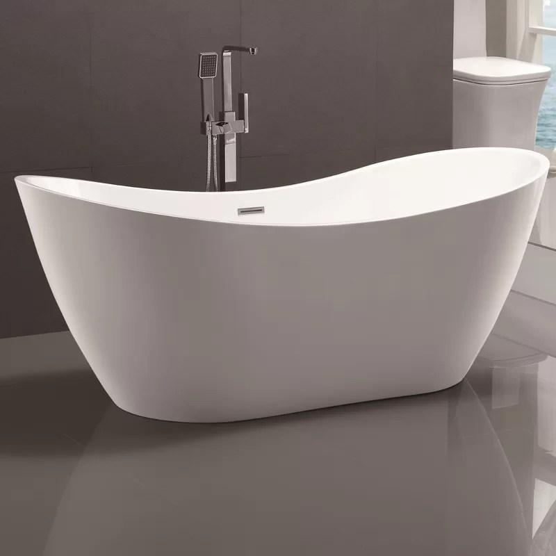 Vanity Art 71 x 315 Freestanding Soaking Bathtub