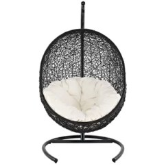 Egg Chair Swing Cane Suppliers In Mumbai Wayfair Herculaneum Encase With Stand