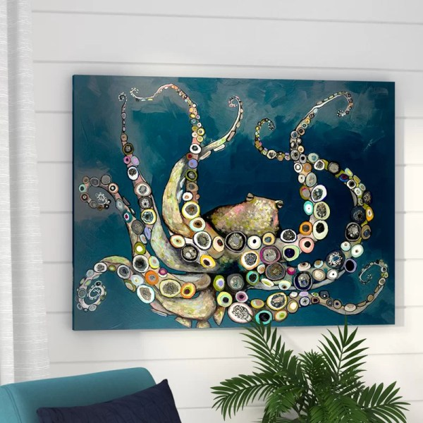 Octopus Wall Art Canvas