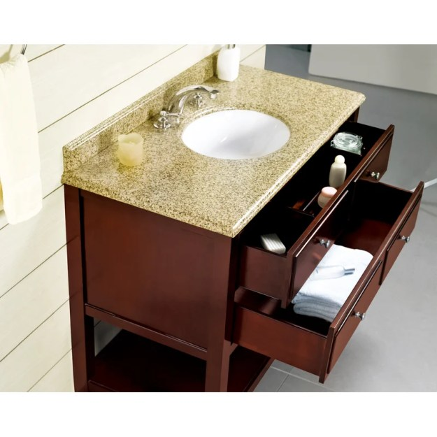 "ove decors berlin 42"" single bathroom vanity set & reviews 