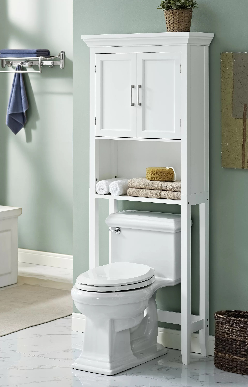 Simpli Home Avington 27 W x 67 H Over the Toilet Storage  Reviews  Wayfair