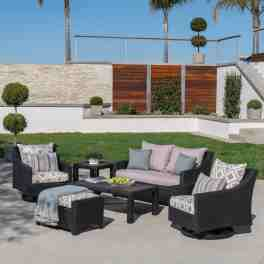 Three Posts Northridge 6 Piece Sunbrella Sofa Seating Group With Cushions Reviews Wayfair Ca