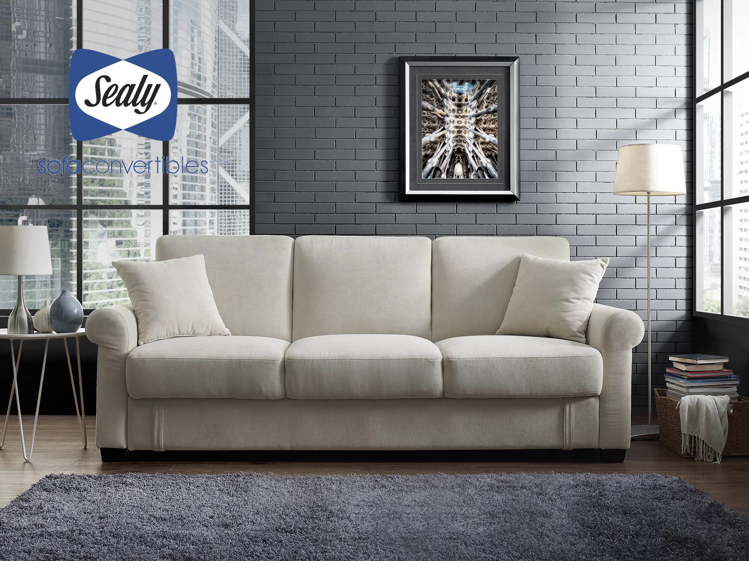 sealy living room furniture ideas for modern sofa convertibles st anne wayfair ca