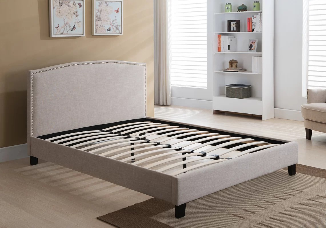 Three Posts Avebury Queen Upholstered Platform Bed