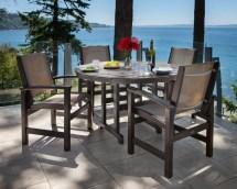 Polywood Coastal 5 Piece Dining Set &
