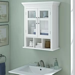 wall mounted bathroom cabinets you'll love | wayfair