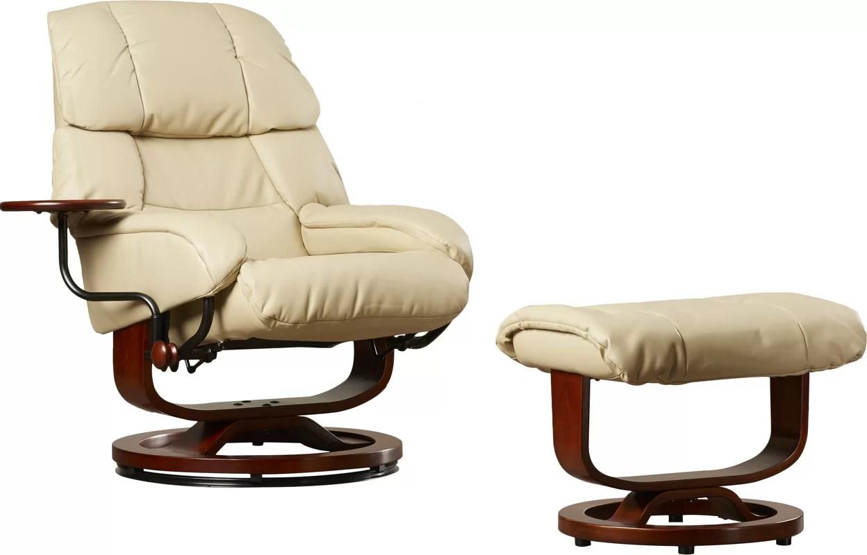 recliner chair handle broken bubble swing stand red barrel studio tooth standard manual swivel