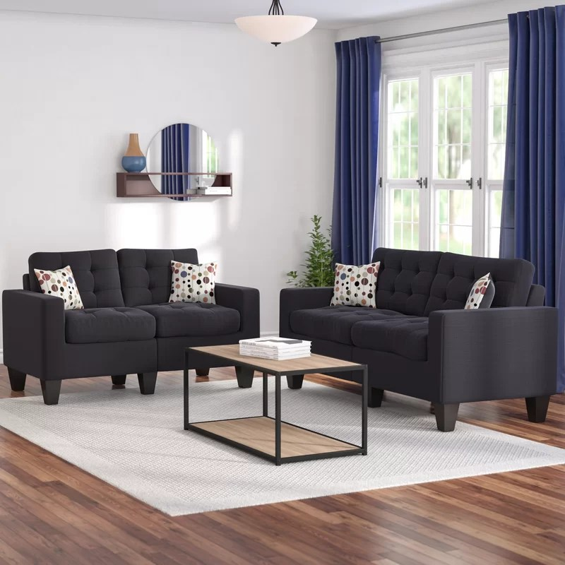 Zipcode Design Amia 2 Piece Living Room Set & Reviews