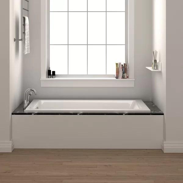 Fine Fixtures Drop In 54 X 30 Soaking Bathtub Amp Reviews