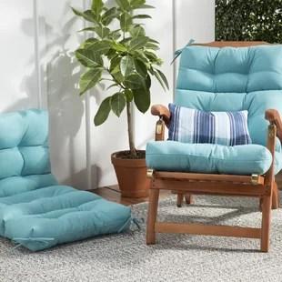 thick chair cushions mid century cane barrel extra wayfair save