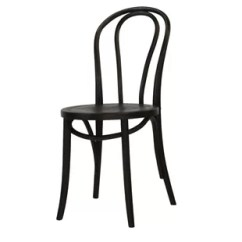 French Cafe Chairs Black Distressed Leather Dining Wayfair Quickview
