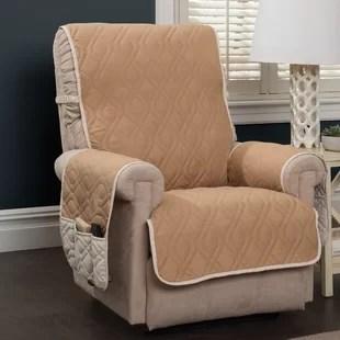 recliner chair covers wheelchair tennis rocker slip wayfair quickview