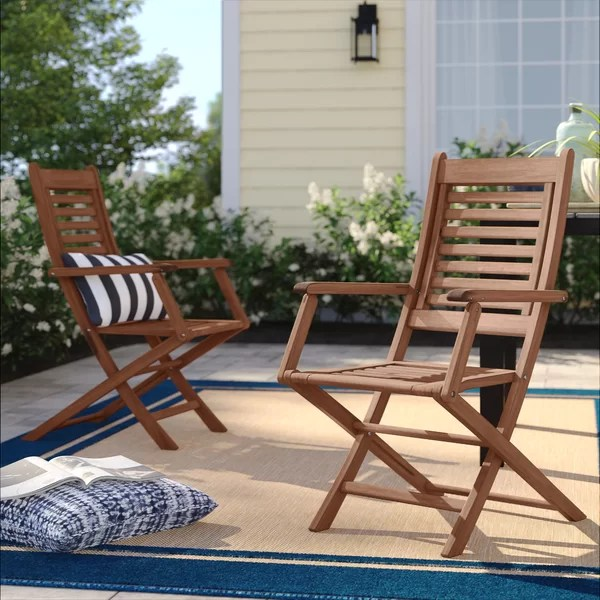 Howard Folding Patio Dining Chair | Birch Lane