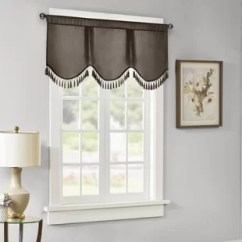 Kitchen Valance Moen Faucets Home Depot Darby Co Valances Curtains You Ll Love Wayfair Quickview