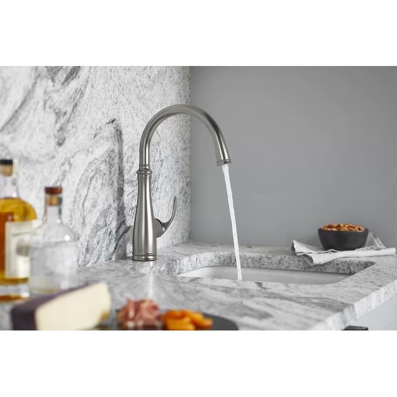 bellera touch single handle kitchen faucet
