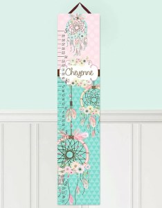 Dream catcher personalized growth chart also toad and lily wayfair rh