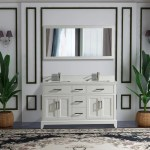 Blevens 60 Double Bathroom Vanity Set With Mirror Reviews Joss Main