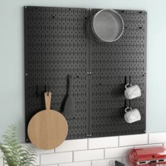 Kitchen Pegboard And Bathroom Cabinets Wayfair Quickview