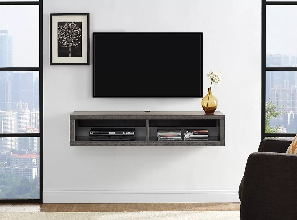 "Martin Home Furnishings 48"" Shallow Wall Mounted TV"