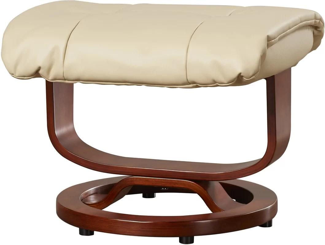 recliner chair handle broken office with adjustable back red barrel studio tooth standard manual swivel
