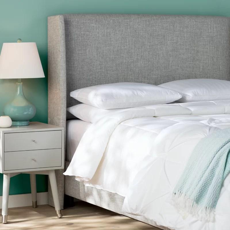 Mercury Row Alrai Upholstered Panel Bed  Reviews  Wayfair