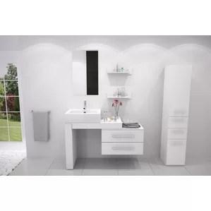 modern & contemporary ada compliant bathroom vanity | allmodern