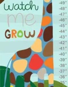 Watch me grow growth chart also oopsy daisy wayfair rh