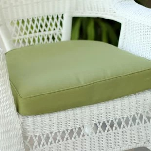 green chair cushions fisher price table and chairs patio wayfair quickview